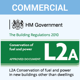 Air Leakage Testing Part L2A Building Regulations