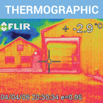 Air Leakage Testing thermographic