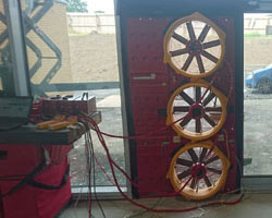 Air Leakage Testing Fan Rig